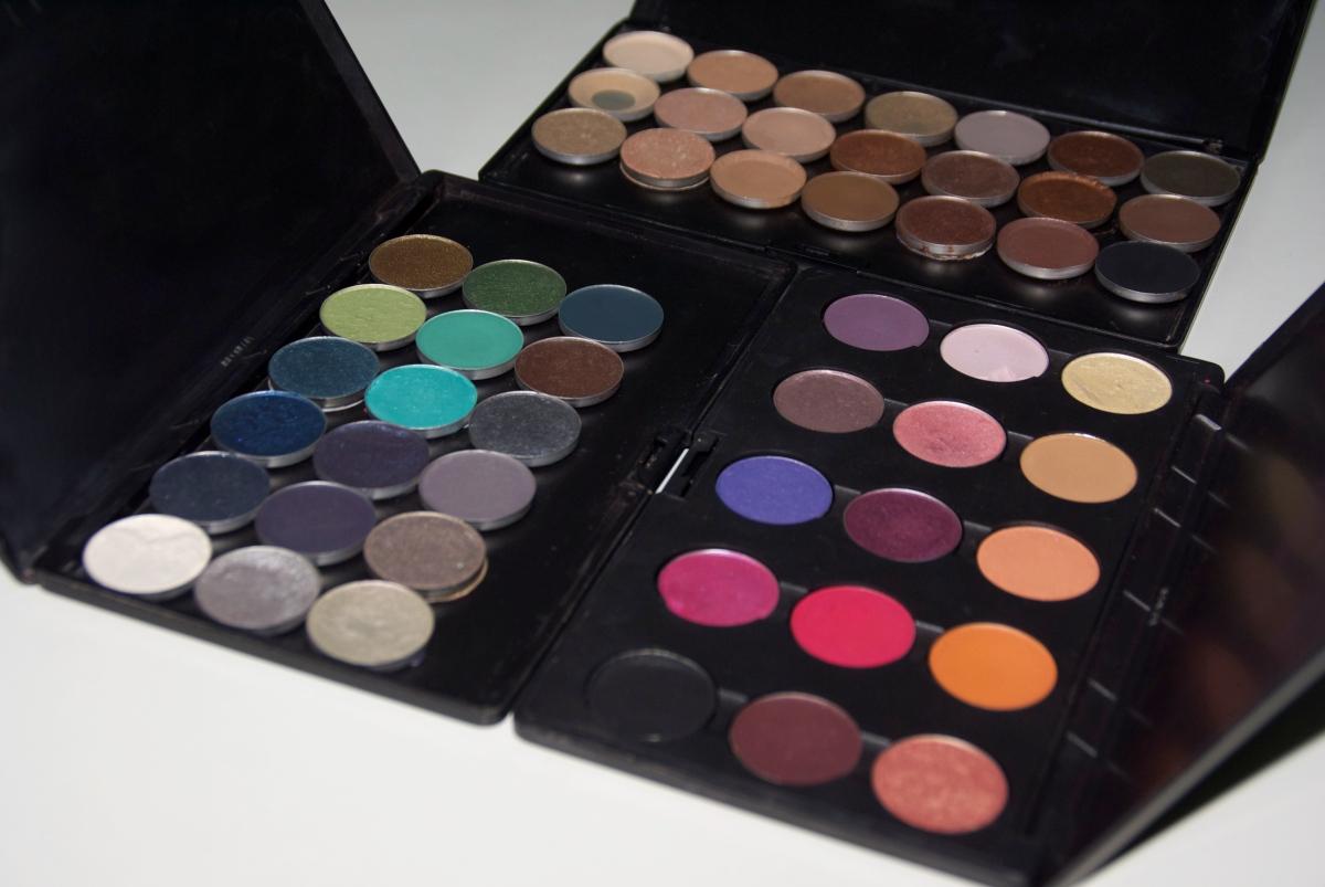 Mis Paletas de sombras de MAC